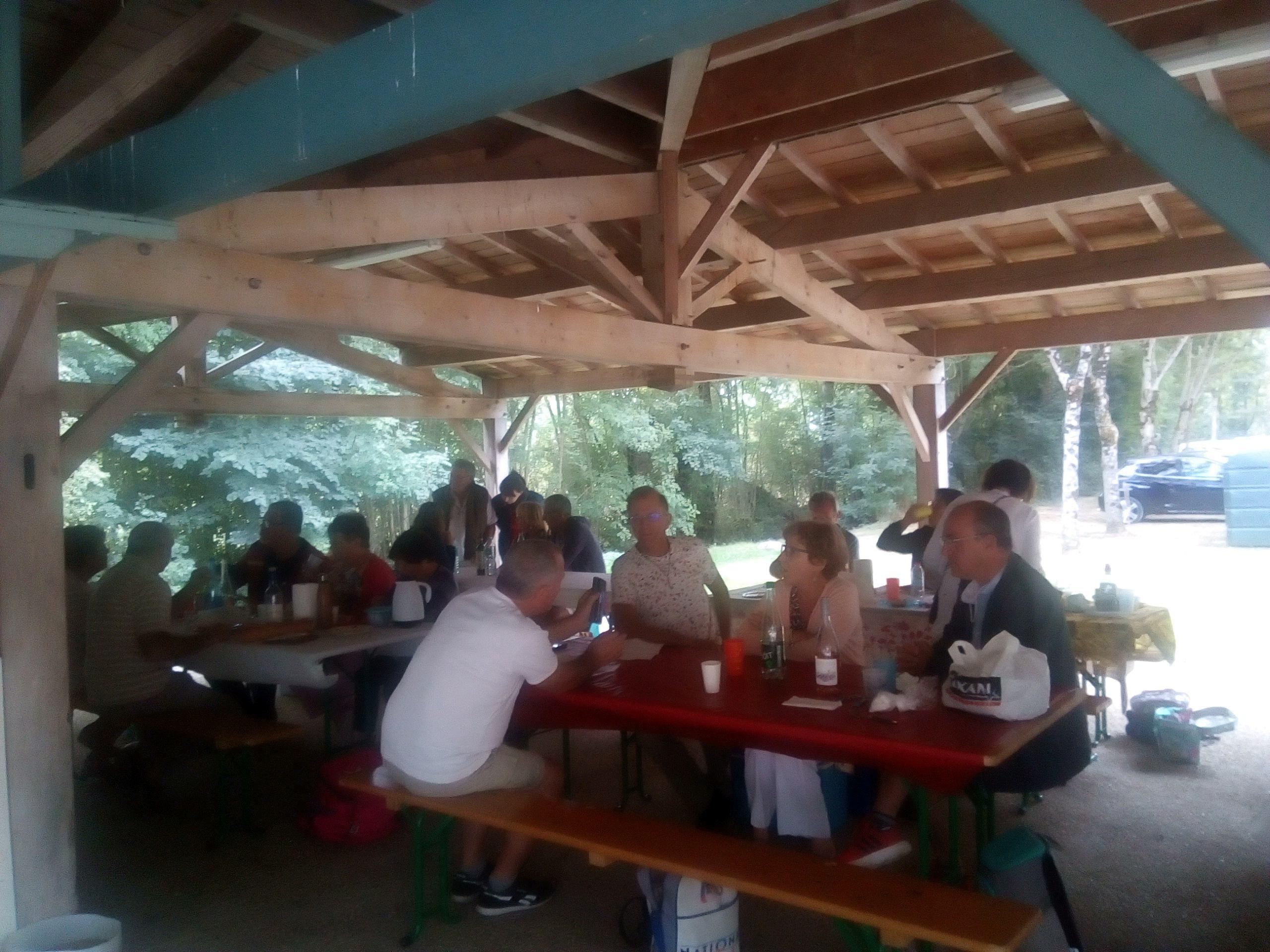 Journée à l'étang de Prérault 06 09 2020
