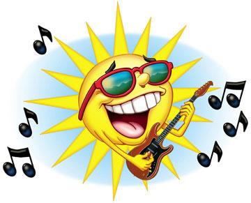 Soleil guitare